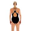 speedo Monogram Muscleback Endurance + Swimsuit Women black/white